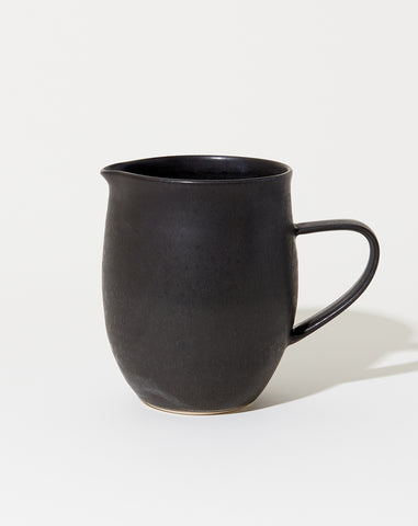 Farmhouse Pitcher in Satin Black