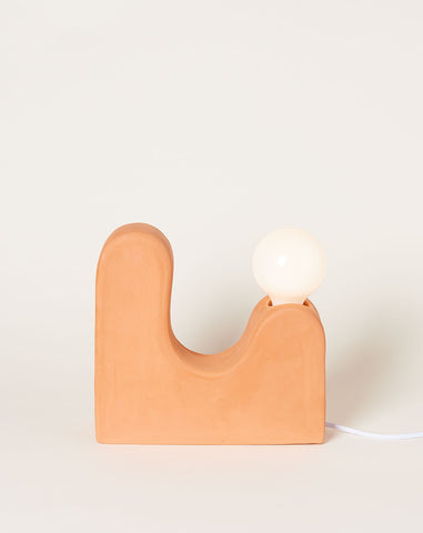 Little Hills Table Lamp in Terracotta