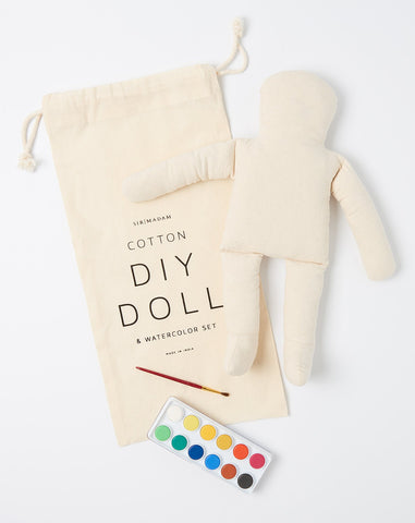 DIY Doll and Water Color Set