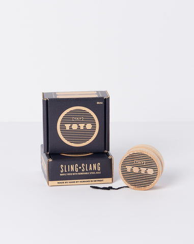 Sling-Slang Yoyo in Black