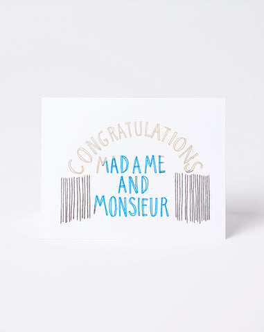 Madame and Monsieur Card