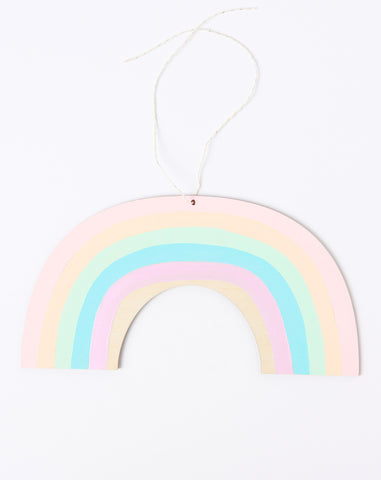 Rainbow Wall Charm in Light