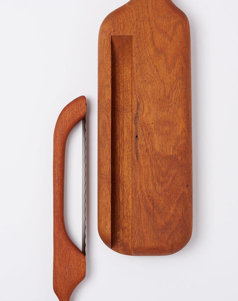 bread board with knife vintage covet lou