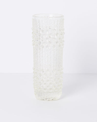 Czech Glass Bubble Vase