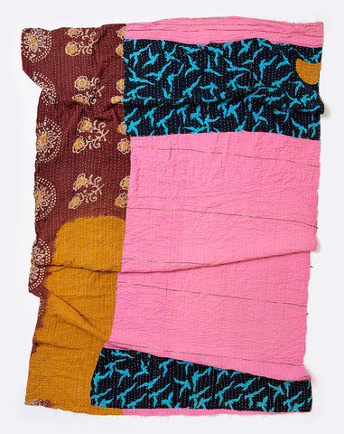 Kantha Throw I