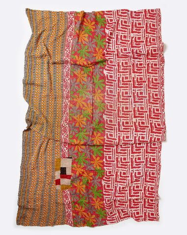 Kantha Throw III