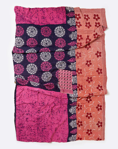Kantha Throw V