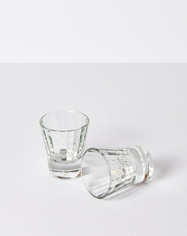 Pair of Textured Shot Glasses