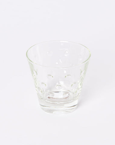 Set of Four Nubby Cocktail Glasses