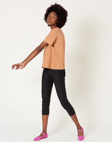 Easy Big Tee in Raw Sienna