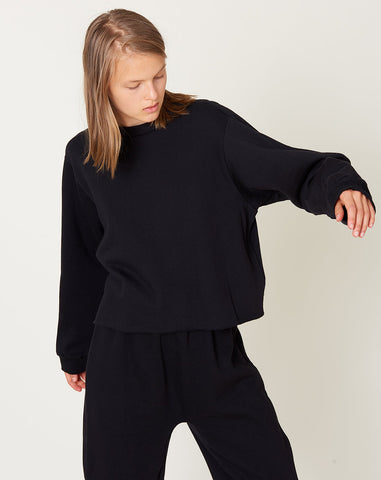 Easy Sweatshirt in Black