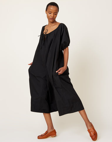 The Eulalie Dress in Black