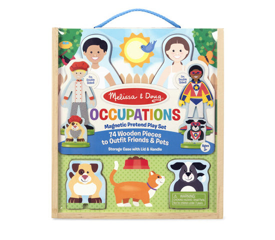 MD Magnetic Play Occupations