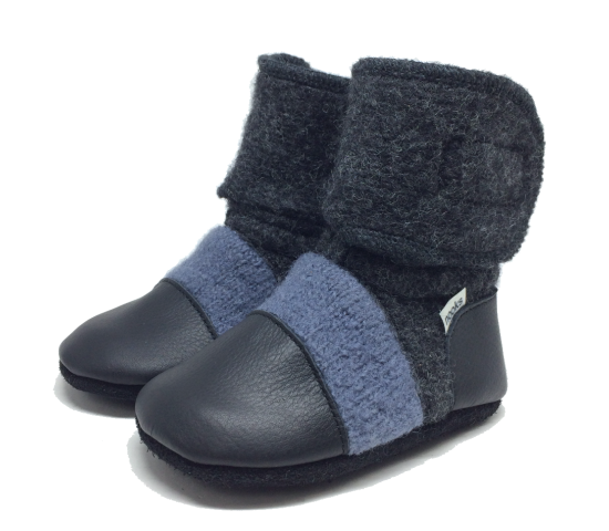 Nooks Booties - Steel Blue