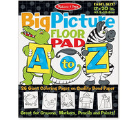 MD Creative Kids A-Z Jumbo Coloring Pad