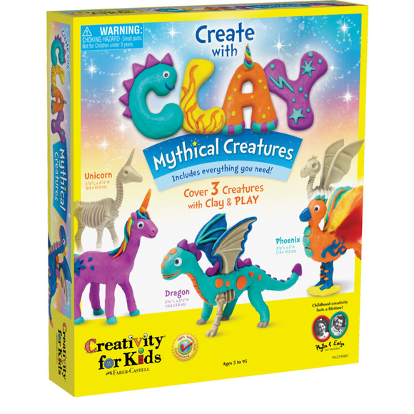 Creativity Kids Create with Clay