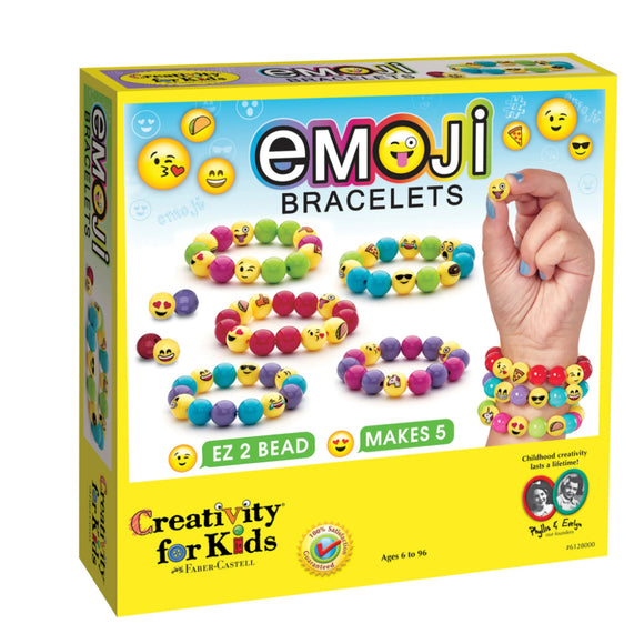 Creativity Kids Emoji Bracelets