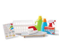 MD Pretend Play Laundry Basket Set