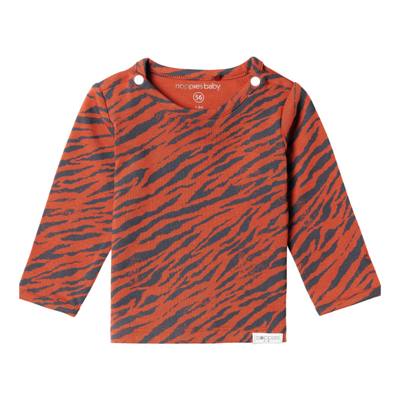 Noppies Yasumi Top - Ginger Zebra