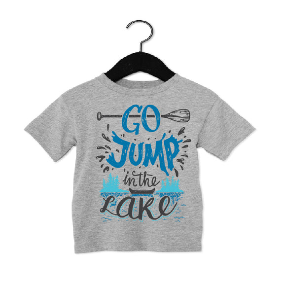 P+M Tee - Jump in the Lake