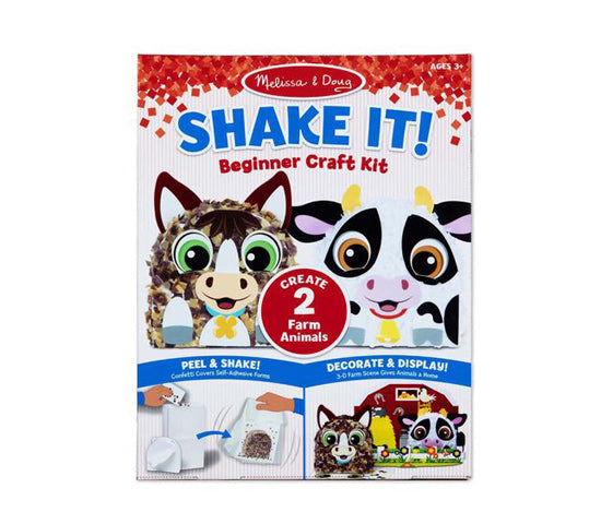 MD Beginner Craft Kit Shake it Farm Animals