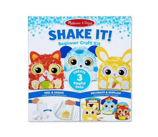 MD Beginner Craft Kit Shake it Playful Pets