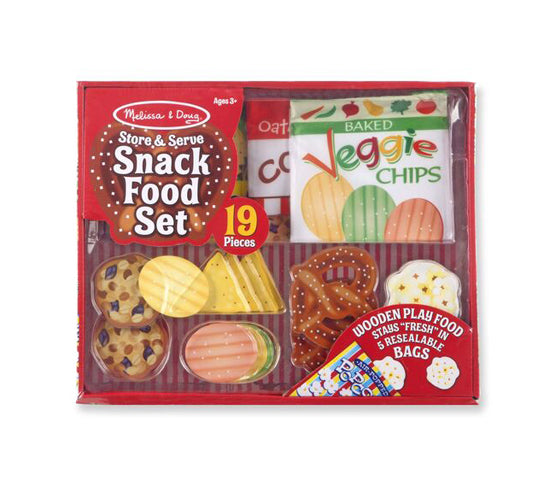 MD Pretend Play Snack Food Set