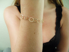 Single Gold Fill Bracelet
