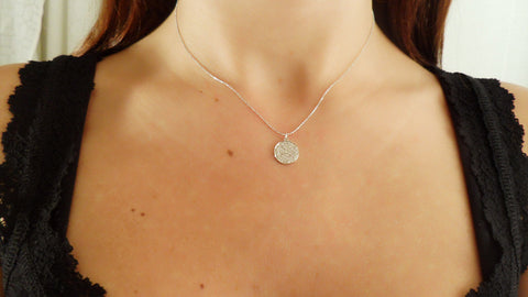 "Small ""Disc"" Necklace"