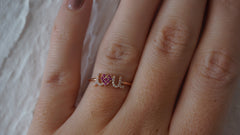 """I Heart You"" Ring"