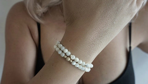 Mother of Pearl Bracelet Set (2 Bracelets)