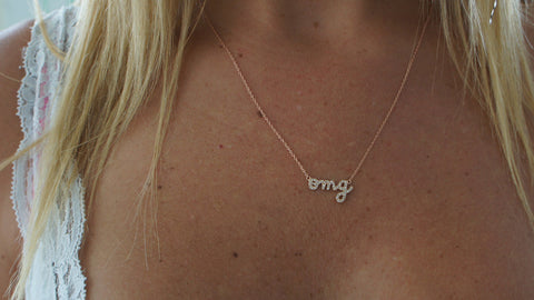 """OMG"" Necklace"