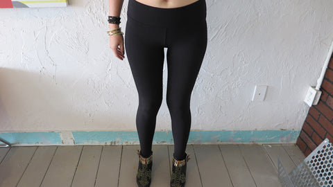 Pima Stretch Side Panel Legging