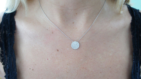 """Disc"" Necklace"