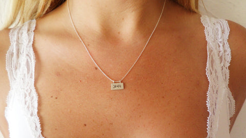 Fearlessness Necklace in Sterling Silver