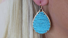 Posh Turquoise Earrings