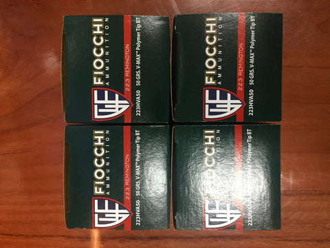 Fiocchi .223 Remington Special! 200 Rounds for $179.00