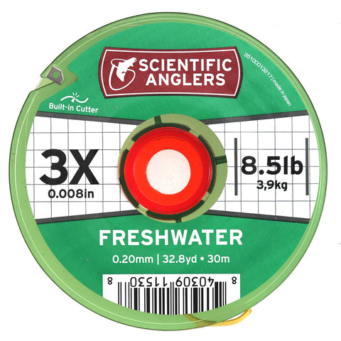 Scientific Anglers Freshwater Tippet 30m