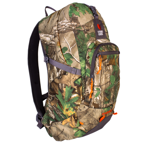 STONEY CREEK WHIRINAKI 25 REALTREE XTRA GREEN BACKPACKS