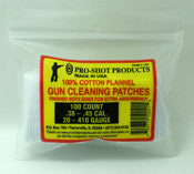 Proshot cleaning patches