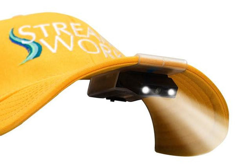 Streamworks Clip on Hat Light