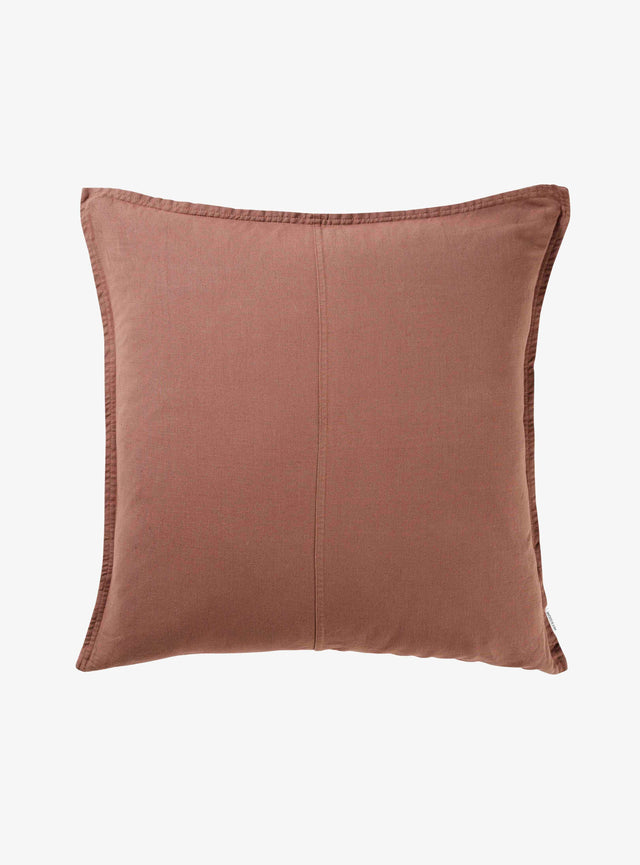 Nutmeg Pannelled Cushion Cover 60cm