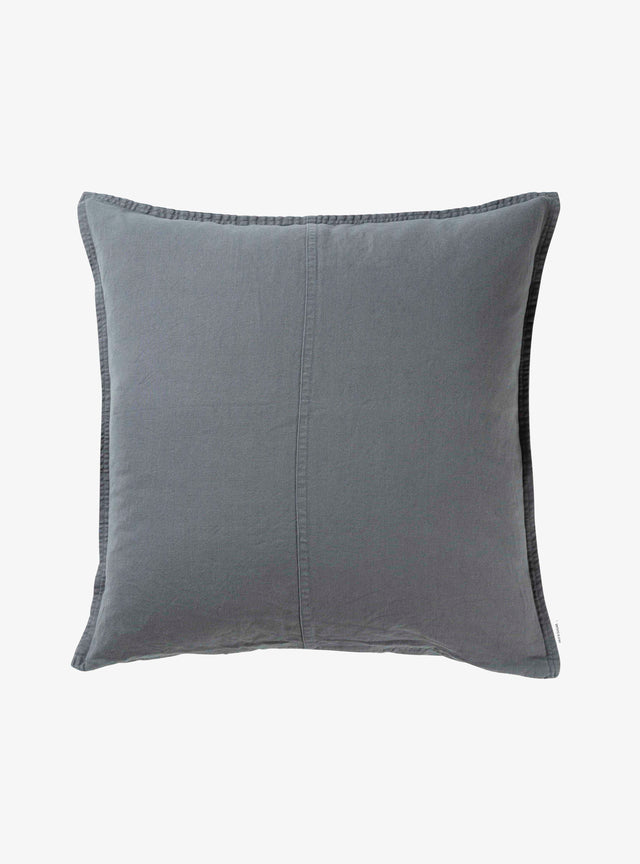 Petrol Pannelled Cushion Cover 60cm