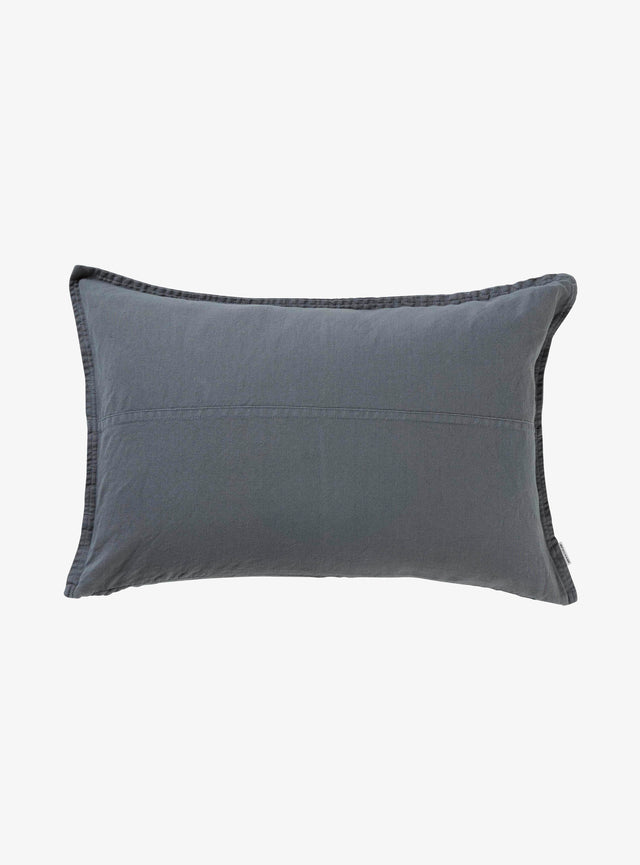 Petrol Pannelled Cushion Cover 40 x 60cm