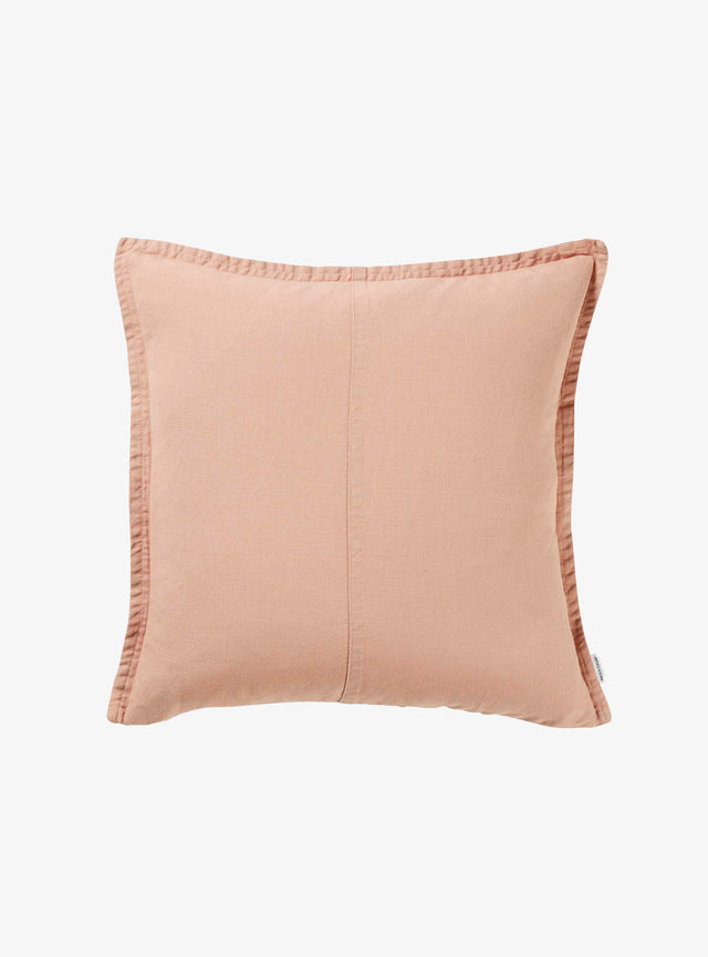 Bisque Pannelled Cushion Cover 50cm