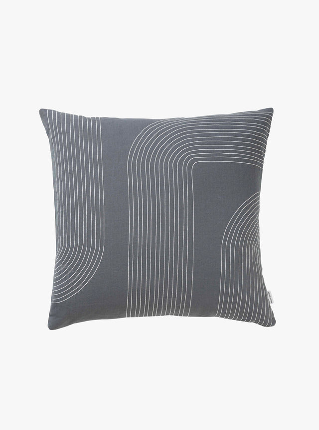 Petrol Trail Cushion Cover 50cm