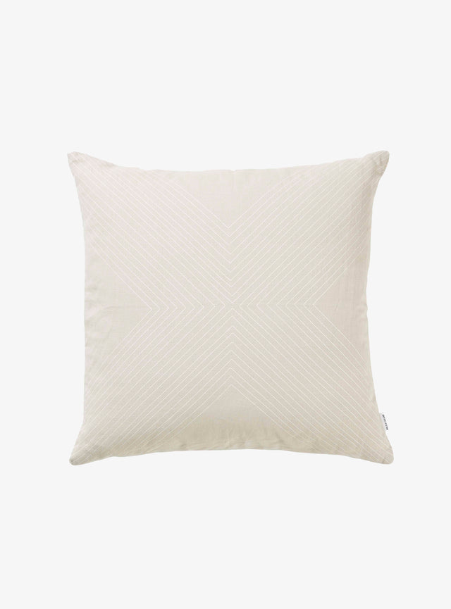 Oatmeal Flag Cushion Cover 50cm