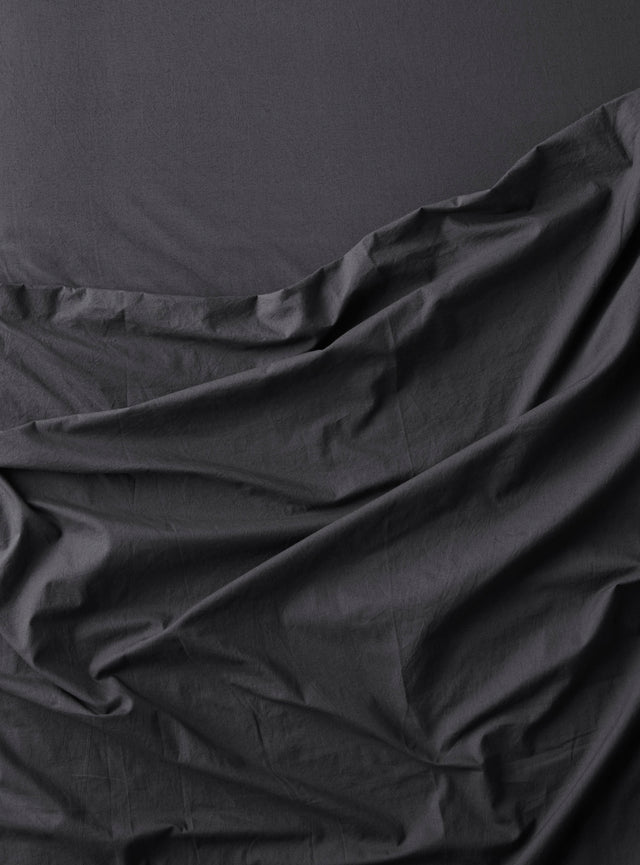 Stonewashed Sheet Set Charcoal
