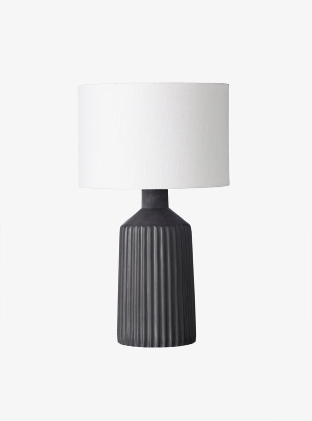 Clyde Tall Table Lamp Black