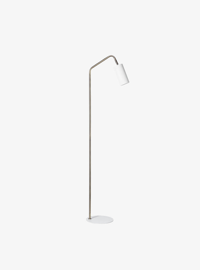 Gem Floor Lamp White
